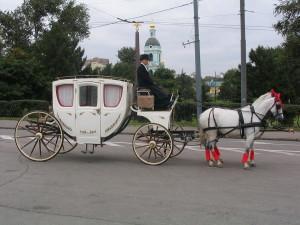 Карета на свадьбу, аренда карет и лошадей