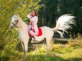 Фотосессии на лошадях