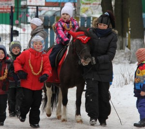 Катание на пони для детей