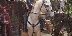 Влюбленные на коне съемки кино в павильонах