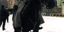 Всадник в костюме и лошадь в кино