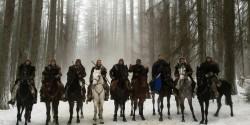 Профессиональные конные каскадеры на съемках фильма